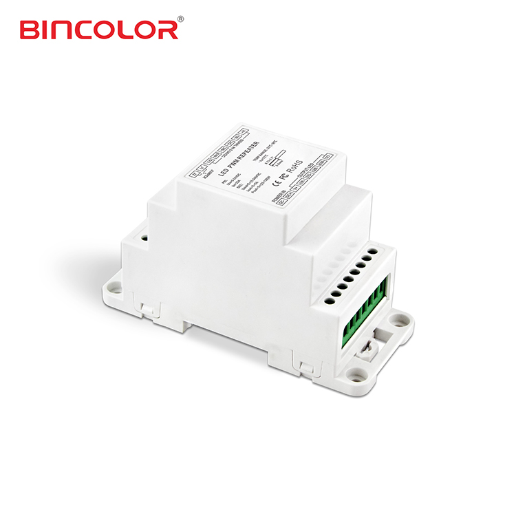 BC-965-DIN รับสัญญาณ PWM 5CH DIN RAIL Power Repeater