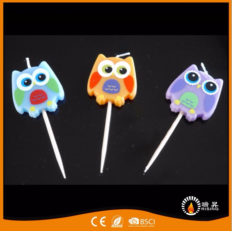 Factory Cartoon Characters Cute Birthday Cake Candles