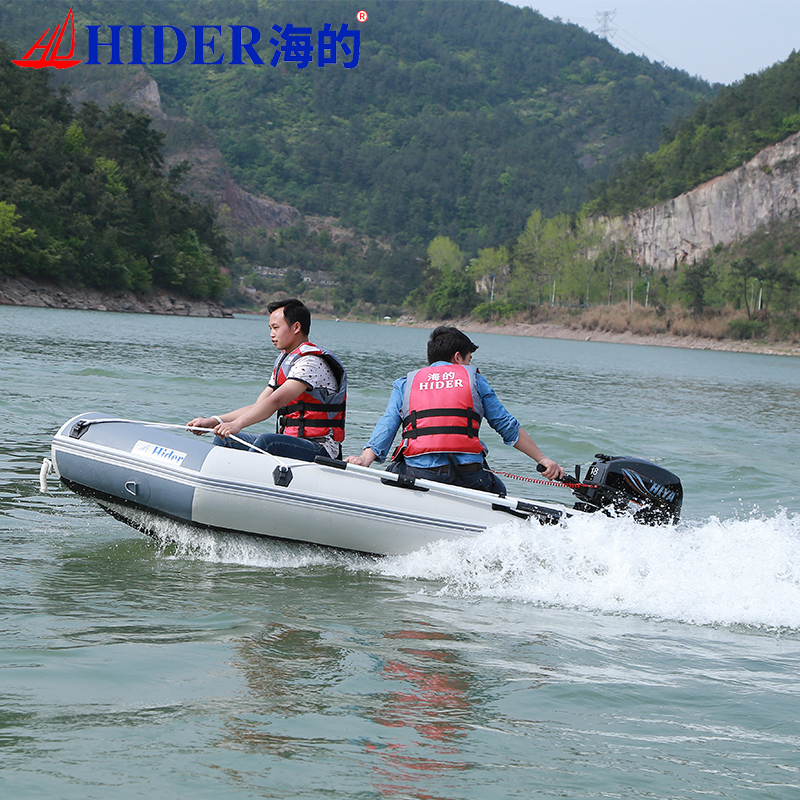 Hider self inflatable boat used hovercraft for sale