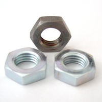 China Factory DIN936 Black Oxide/Galvanized Hexagon Thin Nut
