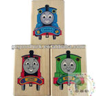 Children wooden toy stamp for diary/Kids wooden rubber stamper for diary