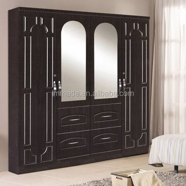 Wooden almirah designs bedroom wardrobe 207008 4 buy for Wooden almirah designs for living room