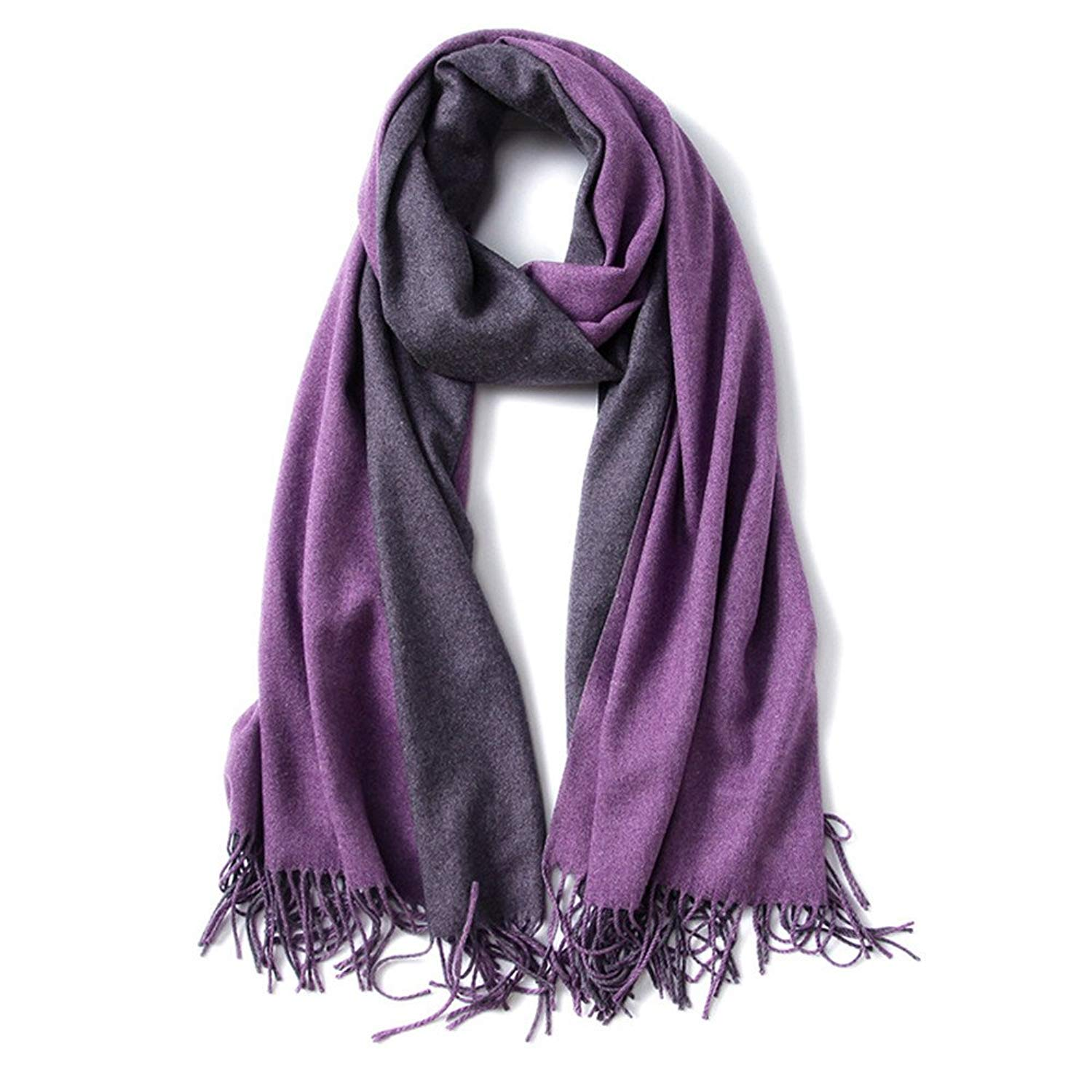 f756e40a2 Get Quotations · TopliTrend Womens Fringed Large Soft Cashmere Feel Thick  Warm Shawls Wraps Light Scarf