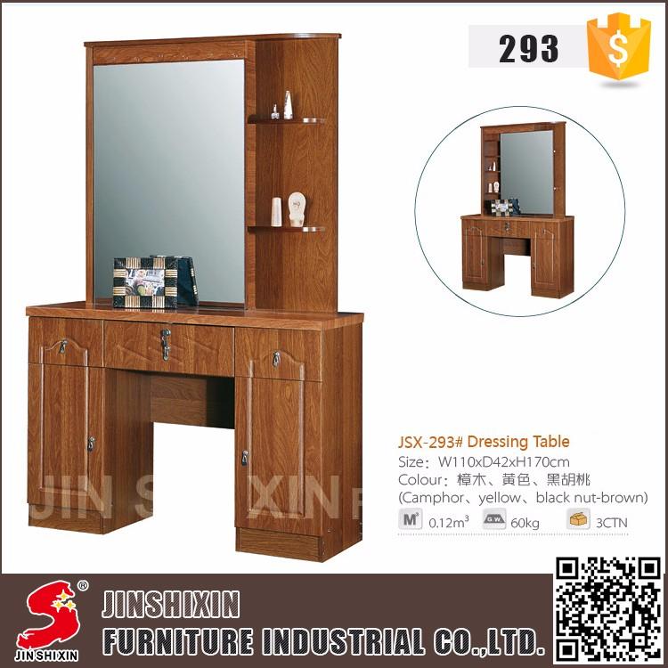 Muebles De Dormitorio Moderno Niños De Madera Tocador Con Espejo Y ...