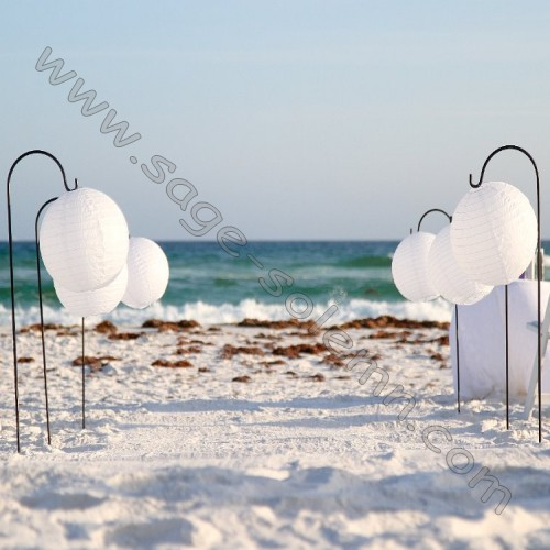High Quality Wedding Decorative Garden Shepherds Hooks With Lantern