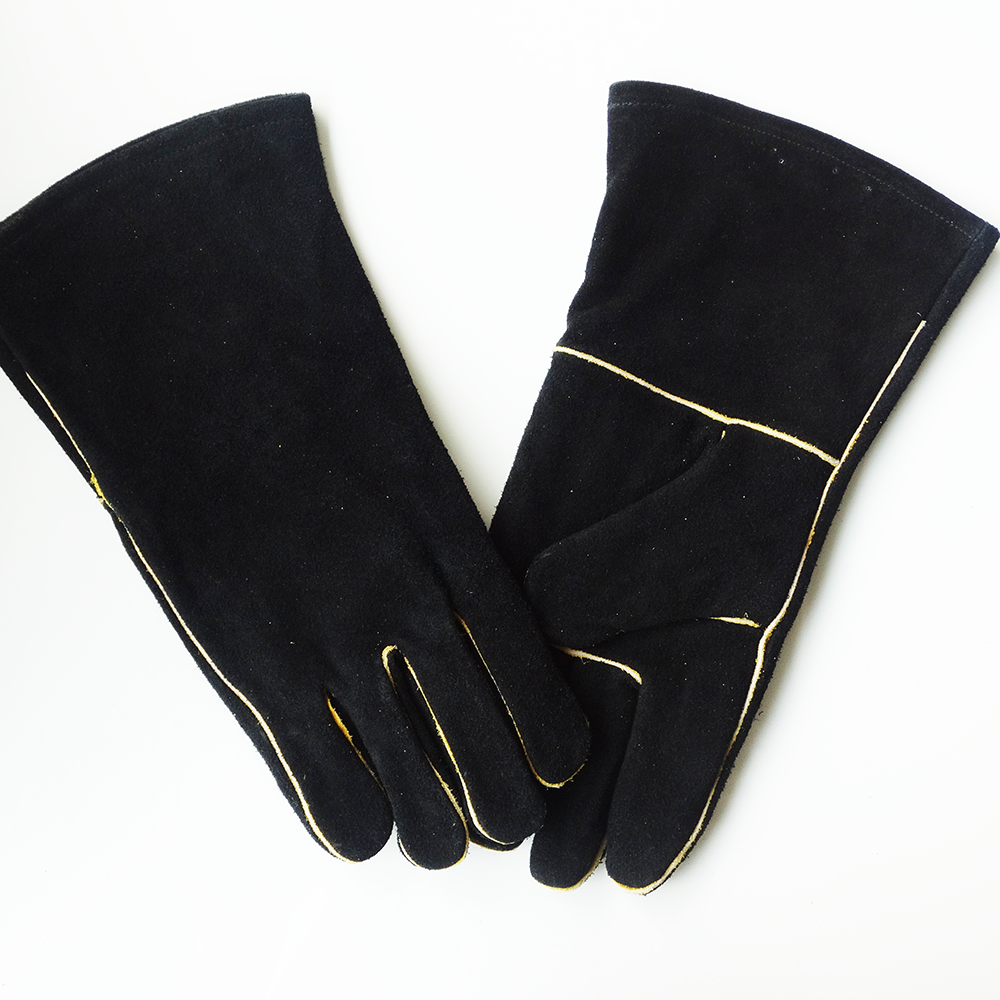 Long black leather gloves prices - Hot Sale Temperature Resistant Strong Ladies Strong Strong Long