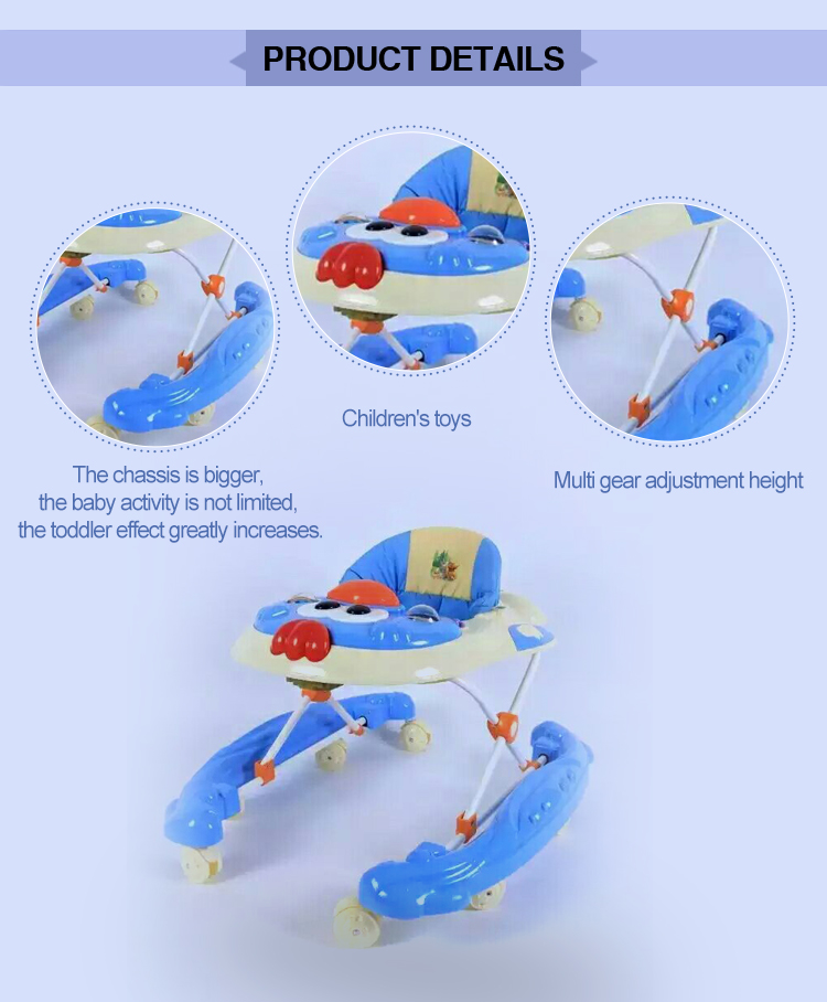 Baby product simple plastic baby walker china factory