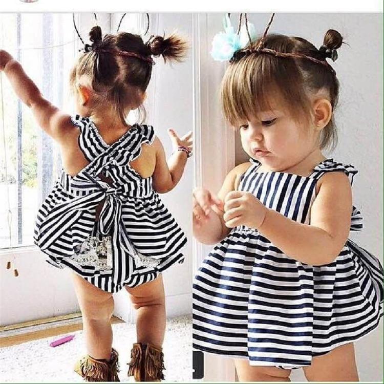 f3e2fa58ce0f Unique White And Black Strip Children Clothing Sets Hot Sale Baby 2 ...