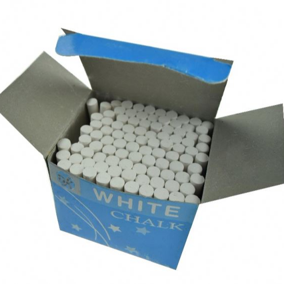 100pcs dustless school chalk markers white chalk school chalk