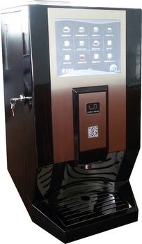 100et Intelligent And Lcd Touch Screen Espresso Coffee