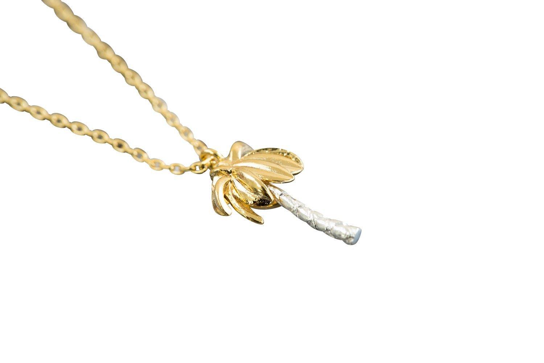 Palm Tree Necklace-bj , palm tree necklace, palm tree pendant necklace, palm tree jewelry, palm tree pendant jewelry, palm tree jewellry, charm neckl
