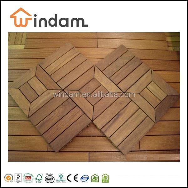 Wooden Waterproof Porch Floor Material