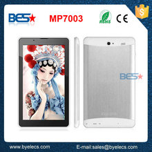 "7"" Capacitive Touch Screen MTK8312 Dual Core 1G/8G Built-in GPS 3G ampe tablet"