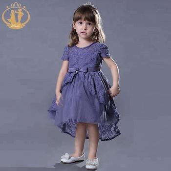 3d0a6c78d83 Nouvelle Mode queue violet princesse 2018 robe de soirée pour enfants fille  ...