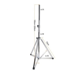 Stainless steel pro line array speaker truss stand