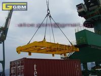 Electric-hydraulic Telescopic Container Spreader For Iso 20ft/40ft ...