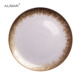 ALiiSAR hot selling product wedding decorations gold silver glass charger plate