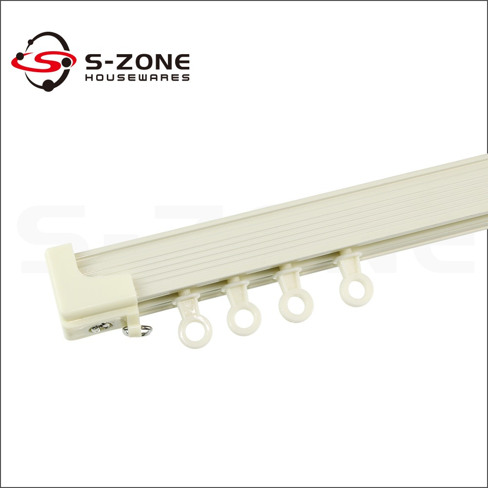 Shower curtain tracks prices - Competitive Price Ceiling Mount Shower Curtain Track With Corner Curtain Track
