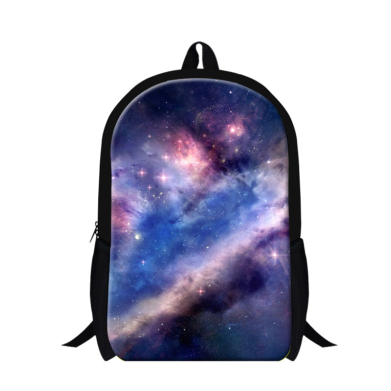 a09dda09acb4 Get Quotations · 2015 iridescent Clouds 3D printing kids school backpack