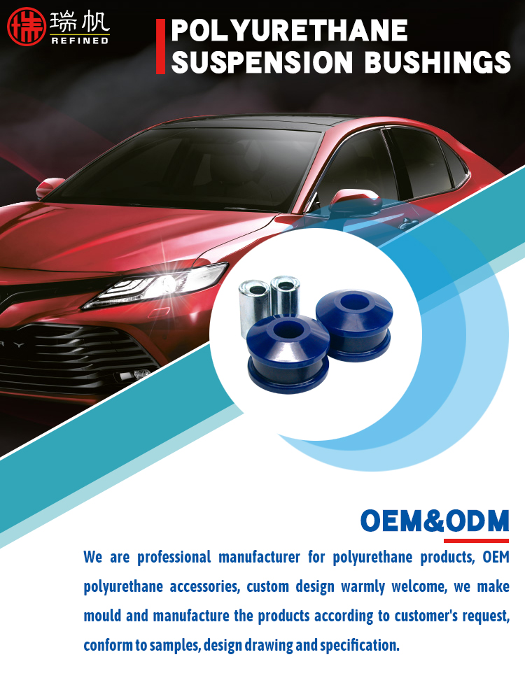 Oem Polyurethane Casting Elastomer Product Front suspension Control Arm Lower-Inner Rear Bush Kit - Double Offset for CAMRY