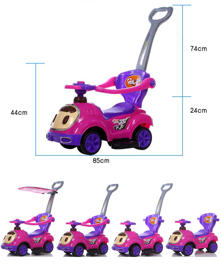 China factory cheap price new model plastic kids baby ride on toy car