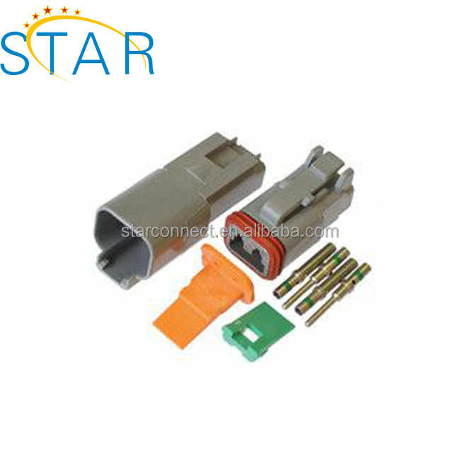 Deutsch DT 2 Pin Kit Conector DT04-2P DT06-2S Conector
