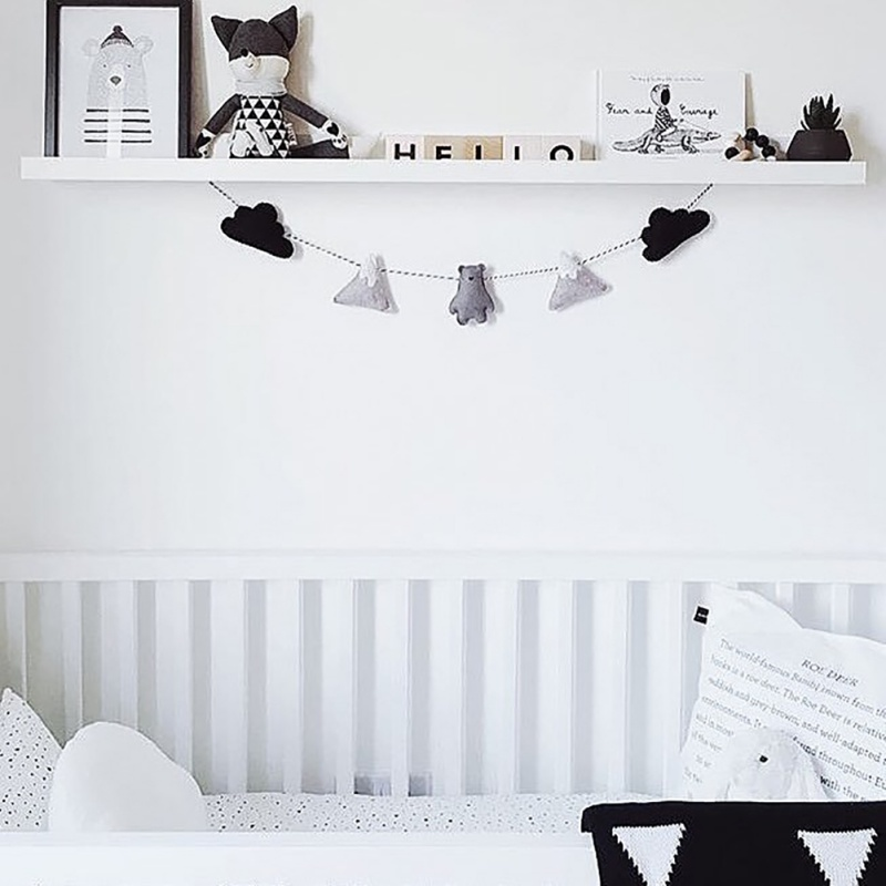 2 5m Baby Kids Room Decoration Handmade Boys Girls Bed Hanging Teepees Tent Toy For Children Room Decor Banner Bumpers Aliexpress