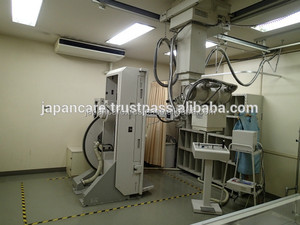 Used Hitachi Fluoroscopy and Overhead Traveling X-ray system Medix 21U