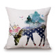 High quality 18 x 18 inches pillow cover custom pillowcase sublimation blank pillow covers fast shipping