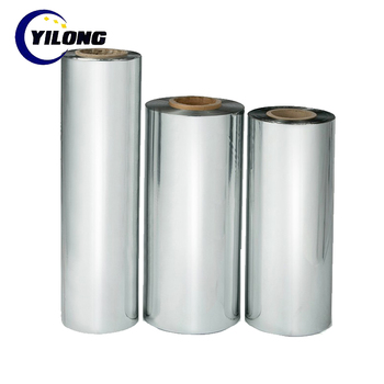 Extrusion Coating Ldpe 2 Micron 6 Microns Metalized Polyester Films - Buy 6  Microns Metalized Polyester Films,Metallic Polyester Pet Film,Metallized