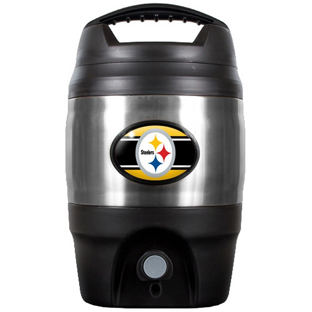 NFL Pittsburgh Steelers Tailgate Keg, 1-Gallon