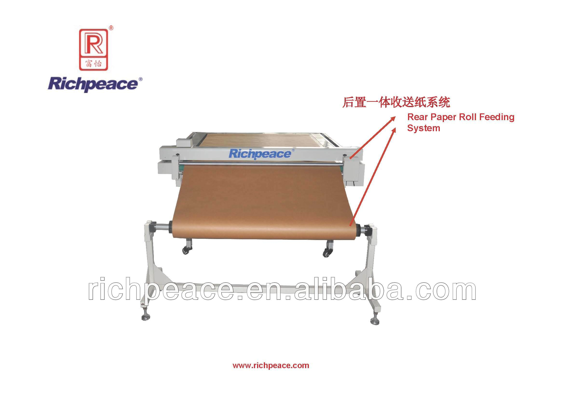 Richpeace Garment Flatbed Cutting Plotter