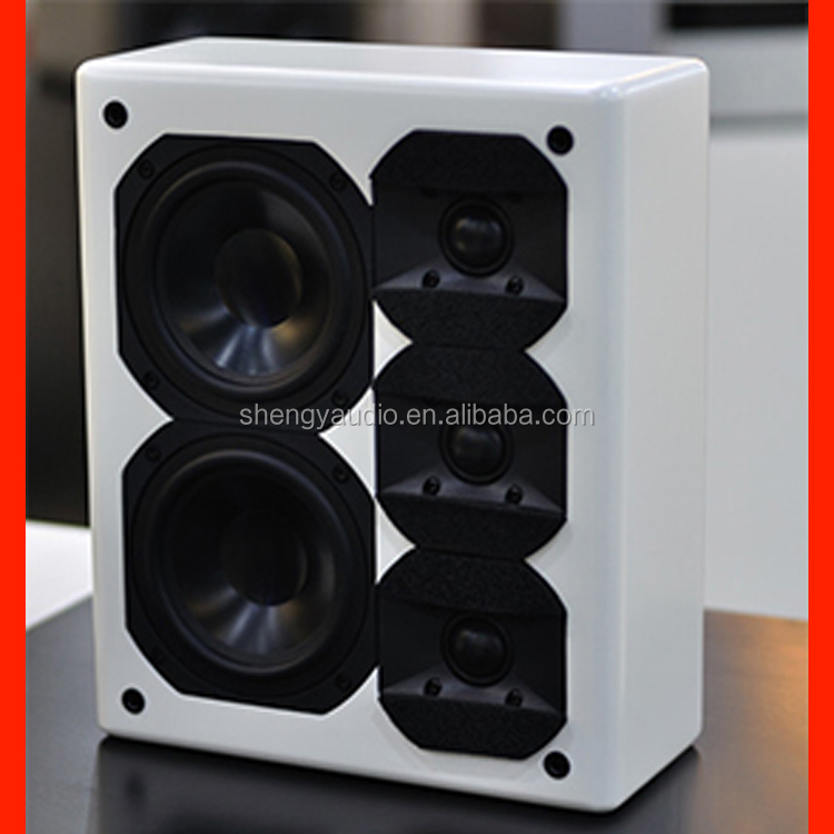 Av Surround 1 Inch Tweeter Audio Hifi Speaker 6.25 Inch Mid Bass ...