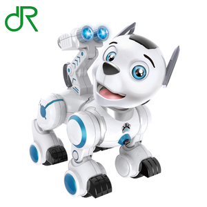 Smart Rc Dog Toy Programable Radio Control Toy Dog Rc Toy Robot Dog with light and sound