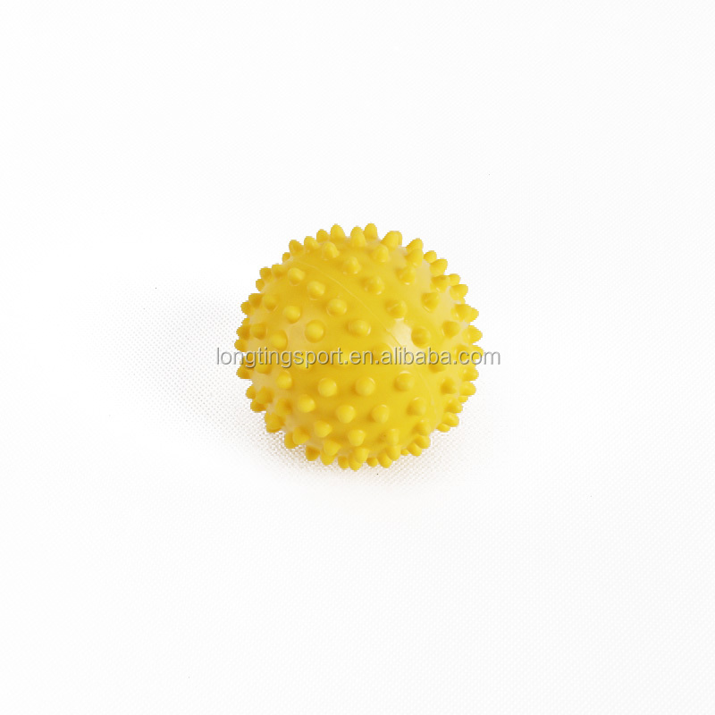 Eco-friendly PVC 9cm Spiky Trigger Point Fitness Pain Relief Massage Ball