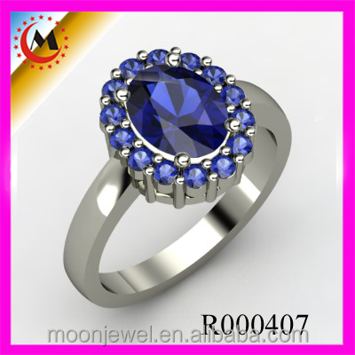 FASHION LEADER JEWELRY VALUE 925 SILVER RING TIN ALLOY WEDDING RING