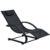 Ningbo wholesale retailer supermarket PVC mesh fabric rattan wicker aluminum Chaise chair knock down outdoor garden sun lounge