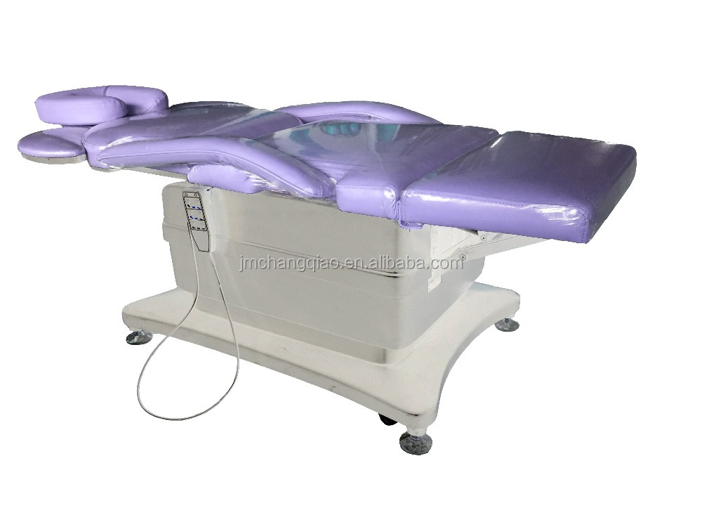 2017 Top Purple Luxury Spa Furniture Used Electric Massage