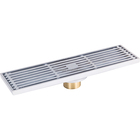 Simple fashion floor drain strainer for home floor 82x300mm