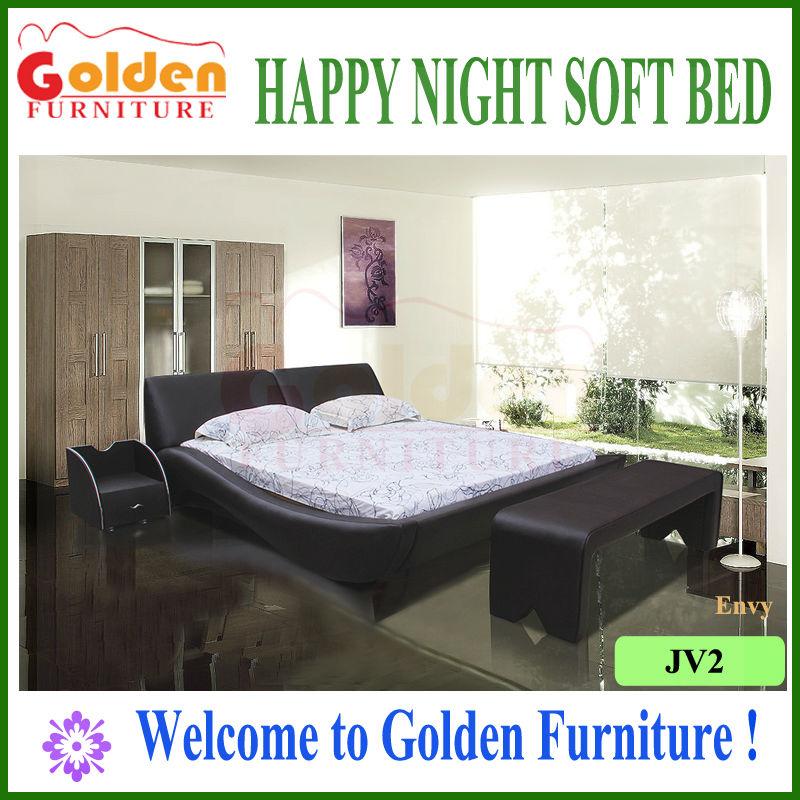 Rumania de oro del sexo muebles camas con soporte base& mesas ...