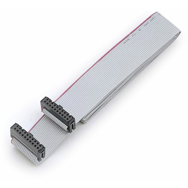 30 Pin Ribbon Cable Connector : Pin way f connector idc flat rainbow ribbon cable