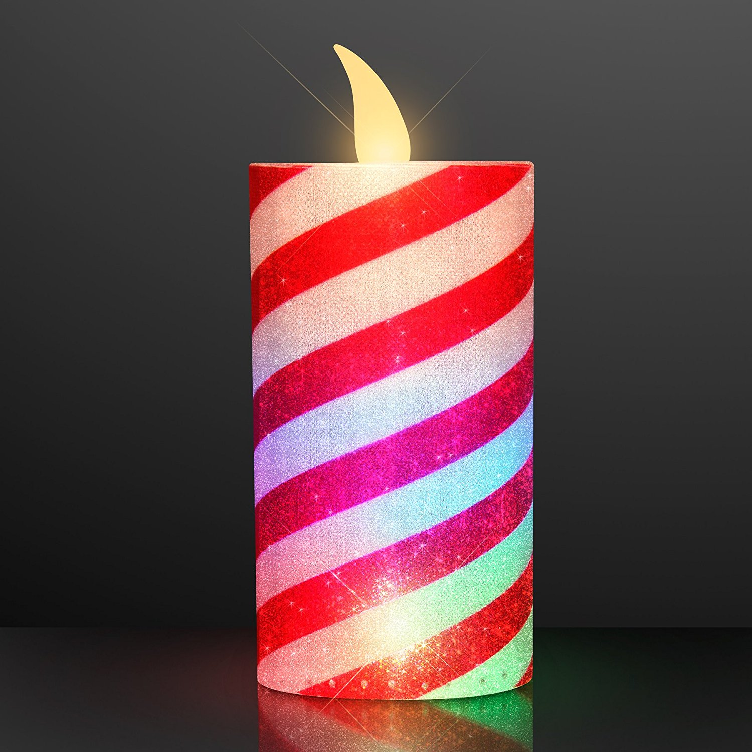 Cheap candy cane rope light find candy cane rope light deals on get quotations led light up candy cane candles set of 12 aloadofball Images