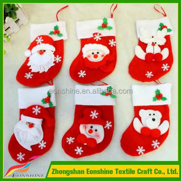 Hot Sale Kids Personalised Christmas Stockings For Cheap