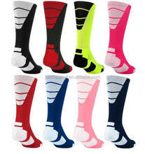 Mens Style Soccer Football Baseball Basketball Socks Knee High Socks Custom Socks