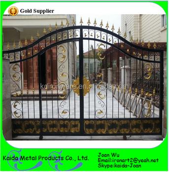 High Quality Ornamental Metal Gates For House/Garden/Villa/Kindergarten