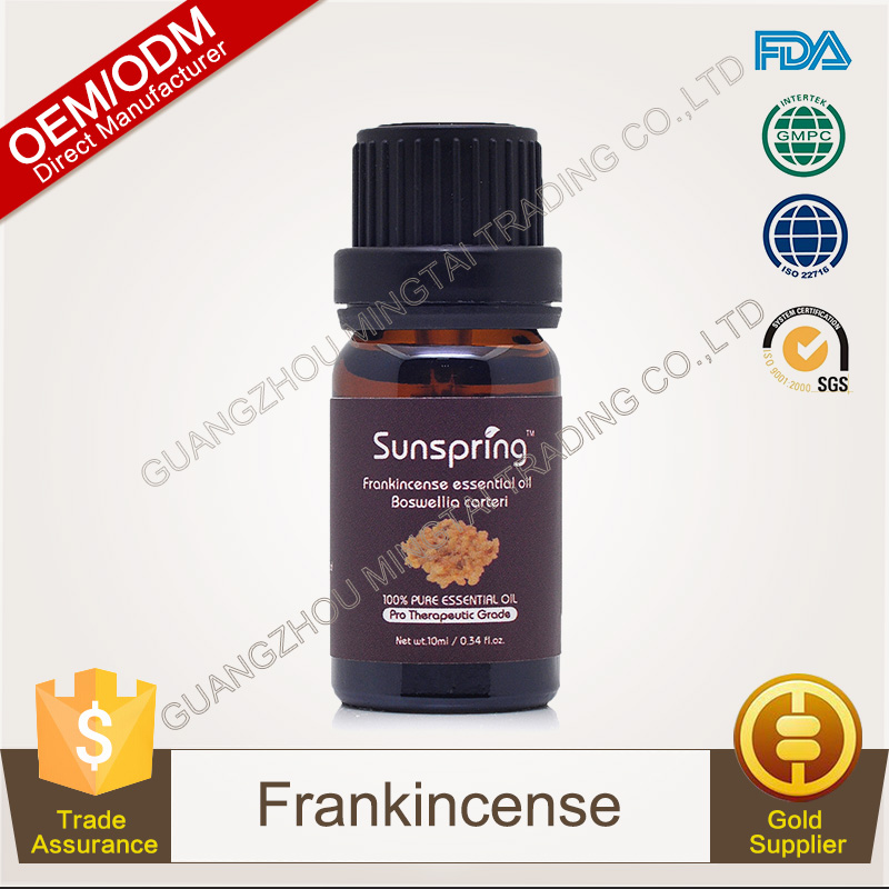 100% Pure Plants Extracts Frankincense Essential Oil OEM/ODM Professional Supplier