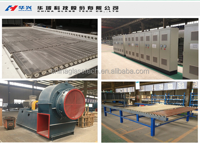 Huaxing Factory Used Glass Tempering Furnace For Sale