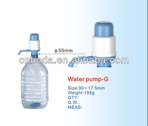 water dispenser spare parts 3 gallon water hand pump