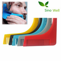 Best selling beard shaping template For Man shaping beard trimming tool