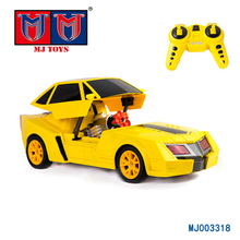 Cheap plastic 2.4 GHZ remote control petrol crazy car 4x4 toy for kids